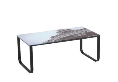 Table de Salon Eiffel Les Meubles de Complément reunion pas cher