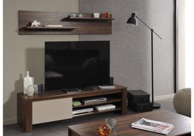 Meuble TV (Collection Tiago) Les Meubles de Complément reunion pas cher