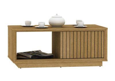 Table de Salon 1 Porte (Collection Ryuki) Les Meubles de Complément reunion pas cher