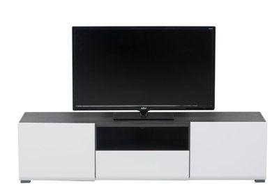 Meuble TV 2 Portes 1 Tiroir (Collection Enzo) Les Meubles de Complément reunion pas cher