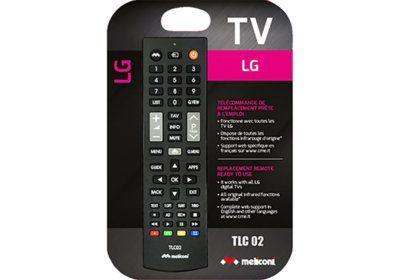 Télécommande TV Pour LG Meliconi (TLC002) Les Accessoires reunion pas cher