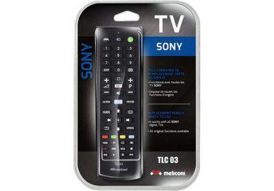 Télécommande TV Pour Sony Meliconi (TLC003) Les Accessoires reunion pas cher