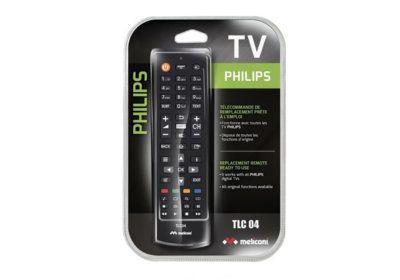 Télécommande TV Pour Philips Meliconi (TLC004) Les Accessoires reunion pas cher
