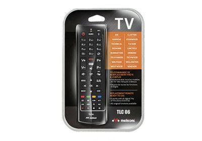 Télécommande TV MDD Meliconi (TLC006) Les Accessoires reunion pas cher