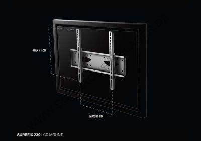 Support TV Mural Surefix 230 Sonorus (SUREFIX230) Les Accessoires reunion pas cher