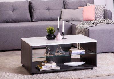Table de Salon (Collection Enzo) Les Meubles de Complément reunion pas cher