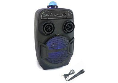 Enceinte Karaoké Lumineuse Bluetooth (KA118BOWL) Les Barres de Son, Enceintes & Radios reunion pas cher