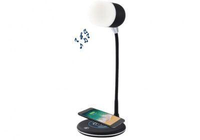 Lampe de Bureau avec Haut Parleur et Chargeur Induction Mobiles / Tablettes / Casques & Écouteurs reunion pas cher