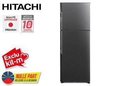 Réfrigérateur 2 Portes 203L Hitachi (RH241PRU0) Exclus Kit-M & Nulle Part Ailleurs ! reunion pas cher