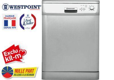 Lave-Vaisselle 12 Couverts Westpoint (WYI-12E21S) Exclus Kit-M & Nulle Part Ailleurs ! reunion pas cher