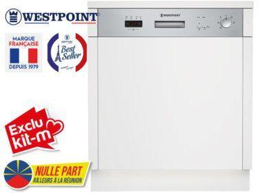 Lave-Vaisselle Intégrable Westpoint (WSYI-1372E20.S) Exclus Kit-M & Nulle Part Ailleurs ! reunion pas cher