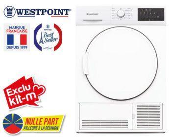 Sèche-Linge 7kg Condensation Westpoint (WDI719EC) Exclus Kit-M & Nulle Part Ailleurs ! reunion pas cher