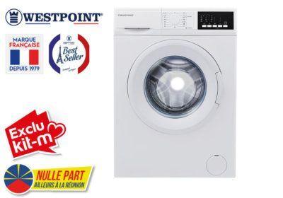 Lave Linge 8KG Westpoint (WMI812D20) Exclus Kit-M & Nulle Part Ailleurs ! reunion pas cher