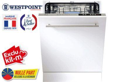 Lave-Vaisselle Tout Intégrable Westpoint (WFYI-1342E20.S) Exclus Kit-M & Nulle Part Ailleurs ! reunion pas cher
