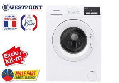 Lave-Linge 9KG Westpoint (WMI-912D20) Exclus Kit-M & Nulle Part Ailleurs ! reunion pas cher