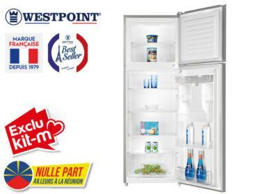 Réfrigérateur 2 Portes Westpoint (WRK-33F20.EWDI) Exclus Kit-M & Nulle Part Ailleurs ! reunion pas cher