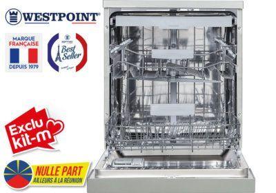 Lave-Vaisselle 15 Couverts Westpoint (WYI15D21DS) Exclus Kit-M & Nulle Part Ailleurs ! reunion pas cher